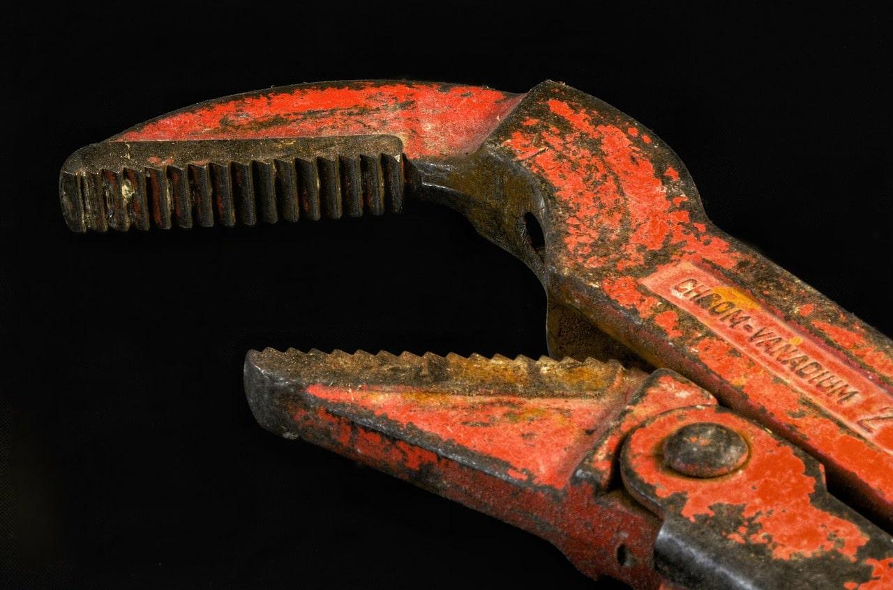 Pipe wrench in Leeuwarden